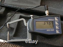 Mitutoyo 209-755.4 1.2.0005 & 0.01mm Digit Test Caliper Gage new in box