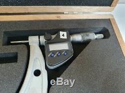 Mitutoyo 225-250mm IP65 Coolant Proof Digital Micrometer 293-255