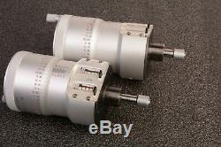 Mitutoyo 252-392 Digit Micrometer Heads 0-1 Range. 0002 For Microscope Stage