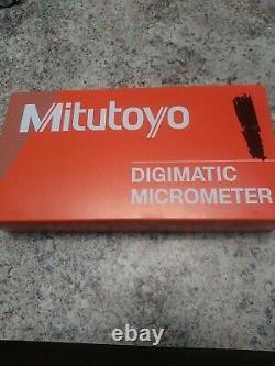 Mitutoyo 29318530 Electronic Digital Micrometer Quantumike Digimatic