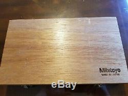 Mitutoyo 293-130-10 Sub-Micron Digimatic Micrometer, 0-1/0-25mm. 000005