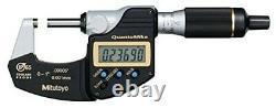 Mitutoyo 293-180-30 QuantuMike Digital Micrometer, 0-1/0-25mm Range