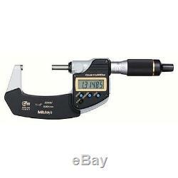 Mitutoyo 293-181-30 QuantuMike Digimatic Micrometer, 1-2/25-50mm Range. 00005
