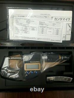 Mitutoyo 293-185-30 Digimatic QuantuMike Micrometer 0-25mm / 0-1 brand new