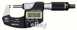 Mitutoyo 293-185-30 QuantuMike Digimatic Micrometer, 0-1/0-25mm Range