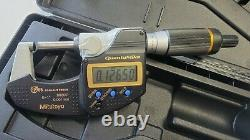 Mitutoyo 293-185-30 digital QuantuMike micrometer 0-1