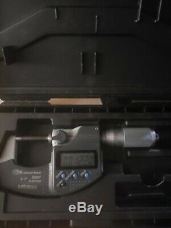 Mitutoyo 293-185 Digital Micrometer 0-1 IP65 Quantumike