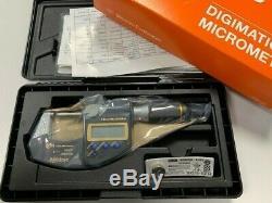 Mitutoyo 293-185 Digital Micrometer IP65 Quantumike 0-25mm 0-1