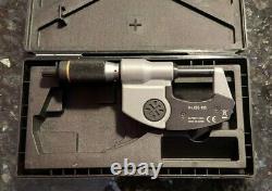 Mitutoyo 293-185 QuantuMike Digimatic Micrometer, 0-1/0-25mm Range