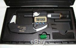 Mitutoyo 293-186-30 1-2 Inch Digital Micrometer Excellent Condition