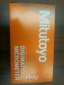 Mitutoyo 293-186-30 Digimatic QuantuMike Micrometer 25-50mm / 1-2 brand new