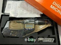 Mitutoyo 293-186-30 Digital Micrometer IP65 Quantumike 25-50mm 1-2 Brand New