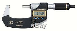 Mitutoyo 293-186-30 QuantuMike Digimatic Micrometer, 1-2 Range. 00005/0.001mm