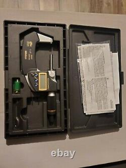 Mitutoyo 293-186 QuantuMike 1-2 IP65 Coolant Proof Micrometer 0.00005