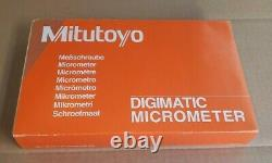 Mitutoyo 293-187-30 QuantuMike Digimatic Micrometer, 2-3 Range. 00005/0.001mm
