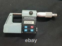 Mitutoyo 293-201 DIGITAL MICROMETER CALIPER