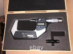 Mitutoyo 293-232-30 Digimatic Micrometer, Range 50-75 mm with Output
