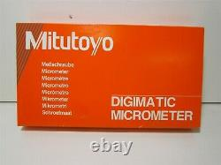 Mitutoyo (293-331-30) 1-2 IP65 Carbide Standard Electronic Outside Micrometer