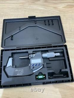 Mitutoyo 293-331-30 1-2 IP65 Electronic Coolant Proof Micrometer withSPC