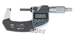 Mitutoyo 293-331-30 Digimatic Micrometer, 1-2/25-50mm Range/. 00005/0.001mm