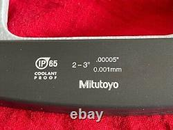 Mitutoyo 293-332 Digimatic Micrometer with SPC Output, 2-3, IP65 IN STOCK