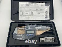 Mitutoyo 293-340-30 0-1 IP65 Coolant Proof Digimatic Micrometer (293-340-30)