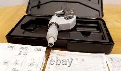 Mitutoyo 293-340-30 0-1 Micrometer Coolant Proof Digimatic IP65