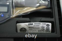 Mitutoyo 293-340-30 Digital Micrometer 0-1 Ratchet MDC-1 PX IP65 New