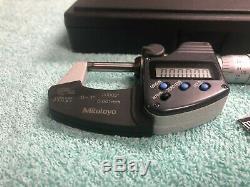 Mitutoyo (293-344-30) 0-1 Range Coolant Proof IP65 Digital Micrometer