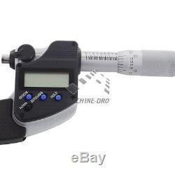 Mitutoyo 293-344 Coolant Proof Digital External Micrometer 0-25mm 0-1 IP65