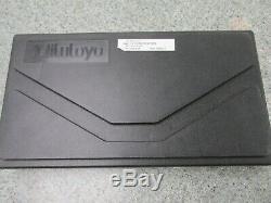 Mitutoyo 293-345 1-2 0005 Grad Digital Micrometer