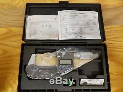 Mitutoyo 293-345-30 1-2 Digital Micrometer