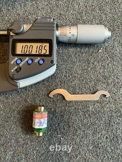 Mitutoyo 293-345 MDC-2 PJT SAE and Metric Digital Outside Micrometer
