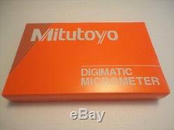 Mitutoyo 293-346-30, 2-3 Digital Micrometer, Ip65.00005