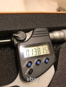Mitutoyo 293-346-30, 2-3 digimatic micrometer, IP65.00005, Fiction thimble