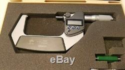 Mitutoyo 293-346 Digimatic Digital Micrometer 2-3/50.8-76.2mm Range NEW