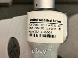 Mitutoyo 293-347-30 3 to 4'' IP65 Carbide Standard Digital Outside Micrometer