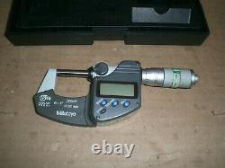 Mitutoyo 293-348 0-1.00005 Electronic Coolant Proof Micrometer