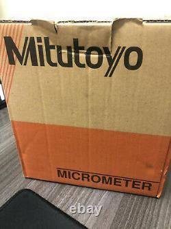 Mitutoyo 293-348-30 Digimatic Micrometer IP65 0-1.00005
