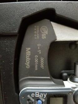 Mitutoyo 293-348 Digimatic Digital Micrometer