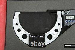 Mitutoyo 293-350-30 Digimatic Micrometer, 4-5/101-127mm Range. 0001/0.001mm