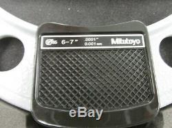 Mitutoyo 293-352-30 Micrometer 6-7/ 150-175mm IP65 Ratchet Stop SPC