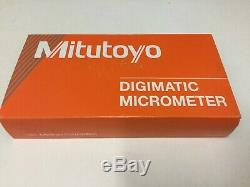 Mitutoyo 293-676-20 Digimatic Digital Micrometer