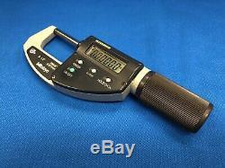 Mitutoyo 293-676 ABSOLUTE Digimatic Micrometer, 0-1.2/30.48mm Range. 00005