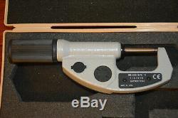 Mitutoyo 293-676 Quickmike Absolute Digital Micrometer 0-1.2/30mm. 00005/. 001
