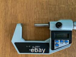 Mitutoyo 293-702 1-2 Digital Micrometer Caliper