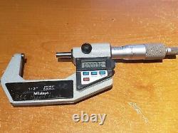 Mitutoyo 293-722-10 Digital 1 to 2 Outside Micrometer. 00005