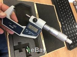 Mitutoyo 293-722-30 Digital Micrometer 1-2 Range