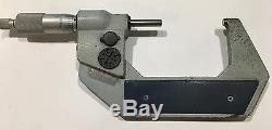 Mitutoyo 293-723-30 Digimatic Micrometer Spherical Anvil & Spindle, 2-3/50-75mm