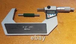 Mitutoyo 293-724-10 Digital 3 4 Outside Micrometer. 00005 +167-143 Standard